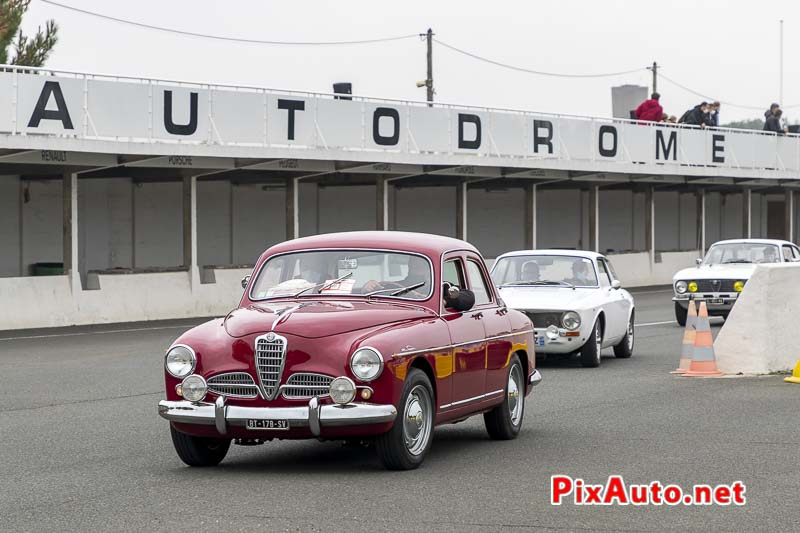 Alfa Romeo 1900 Super Berlina a Italian Meeting 2020