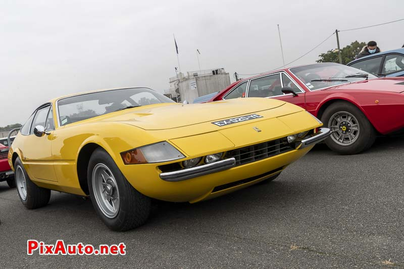 Ferrari Daytona coupe a Italian Meeting 2020