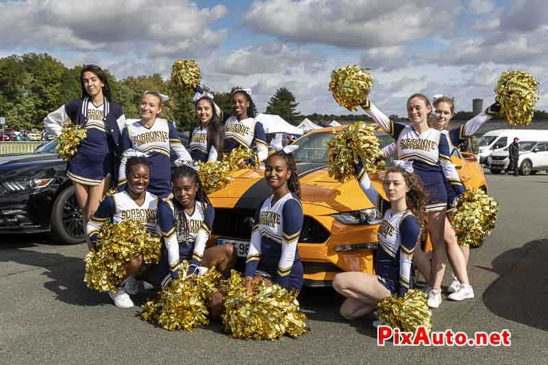 3e US Motor Show, Pom-pom Girls